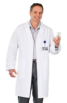 "unisex lab coat: META Labwear Unisex  40"" Lab Coat"