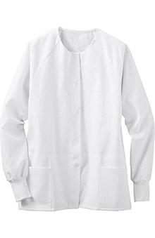 "META Labwear Unisex 31"" Unisex Warmup Solid Scrub Jacket"