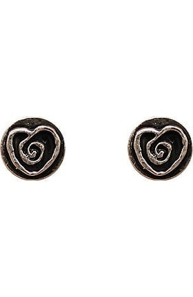 Clearance Trust Your Journey by White Swan Women's Heart Stud Earrings