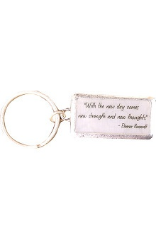 Clearance Trust Your Journey by White Swan Women's New Strength Keychain