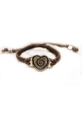 Clearance Trust Your Journey by White Swan Women's Heartwarming Bracelet