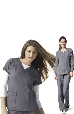 Four-Stretch by WonderWink Women's Scrub Set with Jacket