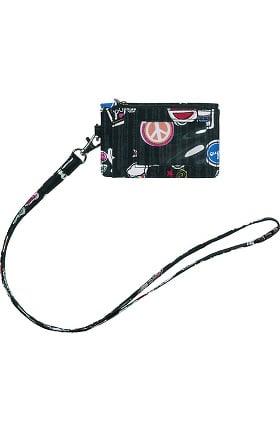 Accessories by WonderWink Women's Zip ID Case & Lanyard