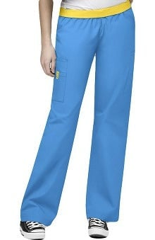 petite: Origins by WonderWink Women's Quebec Lady Fit 8-Pocket Scrub Pants