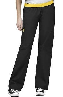 petite: WonderWink Women's Origins Quebec Lady Fit 8-Pocket Scrub Pants