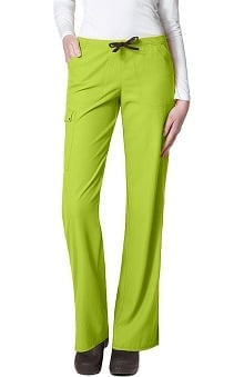 Clearance Easy Fit by WonderWink Women's Cargo Drawstring Boot Cut Scrub Pant