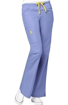 cna uniforms: WonderWink Women's Origins Romeo Lady Fit 6-Pocket Scrub Pants