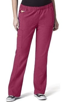 petite: Plus by WonderWink Women's Boot Cut Cargo Pant
