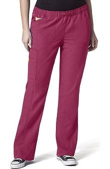 Plus by WonderWink Women's Boot Cut Cargo Scrub Pant