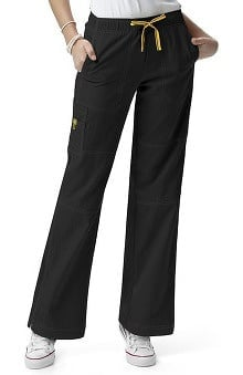 petite: WonderWink Women's Four-Stretch Sporty Cargo Scrub Pant