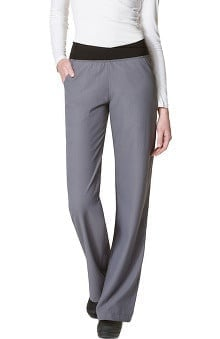 "petite: Easy Fit by Wonderwink Women's ""No Roll"" Knit Waist Pant"