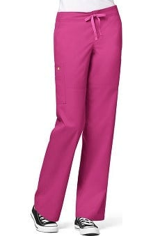 petite: Utility Girl by WonderWink Women's Stretch Cargo Pant