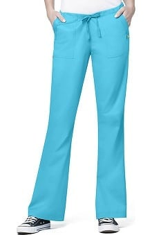 Clearance Utility Girl by WonderWink Women's Stretch Flare Scrub Pant