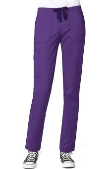 WonderFLEX by WonderWink Women's Slim Straight Scrub Pant