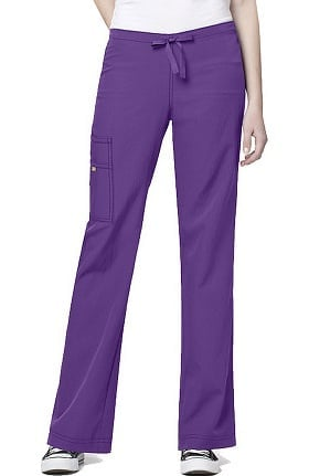 Clearance Four-Stretch by WonderWink Women's Cargo Scrub Pant
