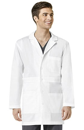 "Wonderlab by WonderWink Men's Basic 35"" Lab Coat"