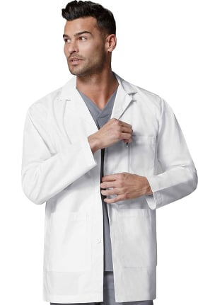 "Wonderlab by WonderWink Men's 31½"" Consultation Lab Coat"
