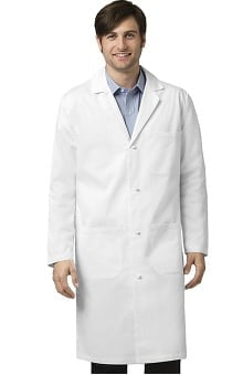 Tall new: Wonderlab by Wonderwink Men's Knot Button Lab Coat