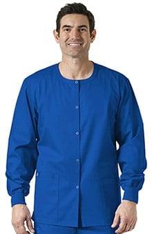 WonderWink WonderWORK Unisex Snap Front Scrub Jacket