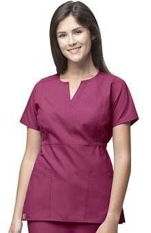 Scrubs: Carhartt Women's Fashion Waist Solid Top