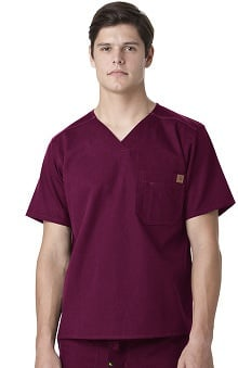 Ripstop by Carhartt Men's Utility Solid Scrub Top