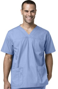 Ripstop by Carhartt Men's Multi-Pocket Solid Scrub Top