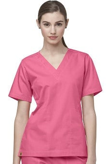 Clearance Ripstop by Carhartt Women's V-Neck Solid Scrub Top