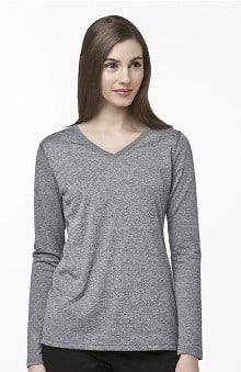 catplus: Carhartt Women's Long Sleeve Work-Dry Solid Underscrub