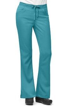 tall: Carhartt Women's 3-Pocket Flare Leg Scrub Pant