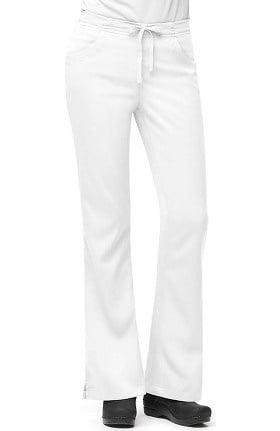 Clearance Carhartt Women's 3-Pocket Flare Leg Scrub Pant
