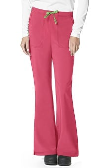 Petite new: CROSS-FLEX by Carhartt Women's Flat Front Flare Leg Scrub Pant