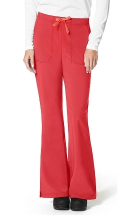 Clearance CROSS-FLEX by Carhartt Women's Flat Front Flare Leg Scrub Pant