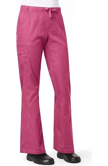 Clearance Ripstop by Carhartt Women's Cargo Flare Solid Scrub Pant