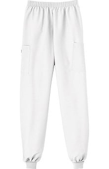 Clearance Fundamentals by White Swan Women's Ribbed Cuff Pull-On Scrub Pants