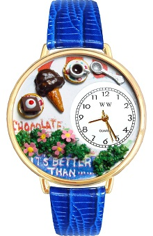 Whimsical Gifts Chocolate Lover Watch
