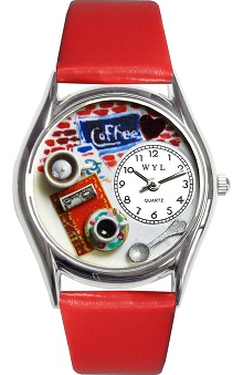 Whimsical Gifts Coffee Lover Watch