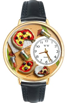 Whimsical Gifts Pizza Lover Watch