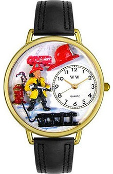 Whimsical Gifts Firefighter Watch