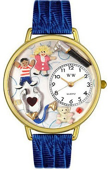 Clearance Whimsical Gifts Pediatrician Watch