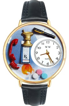 Whimsical Gifts Pharmacist Watch