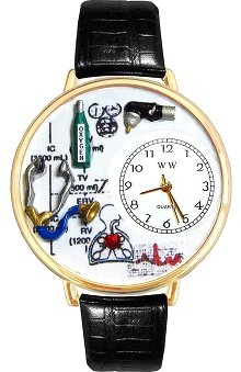 Whimsical Gifts Respiratory Therapist Watch