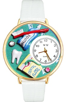 Clearance Whimsical Gifts Dental Assistant Watch