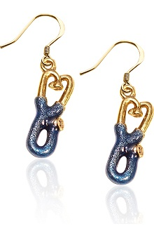 Whimsical Gifts Stethoscope Charm Earrings