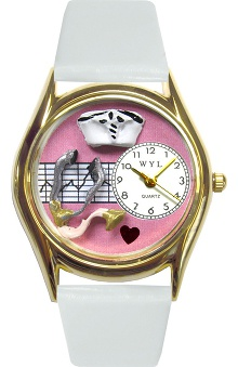 Gifts Accessories new: Whimsical Watches Unisex Pink Face Classic Nurse Watch