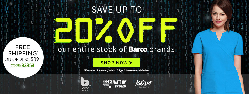 Cyber Monday 20% Off Barco