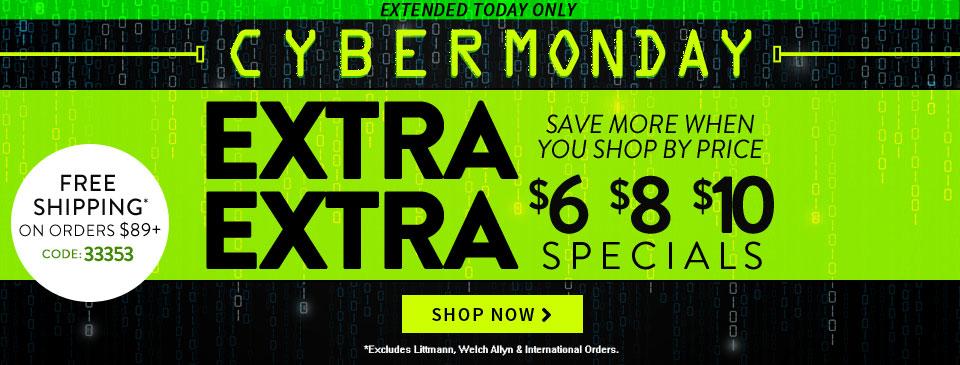 Cyber Monday Extra Extra