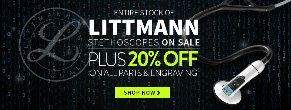 Cyber Monday 20% Littmann