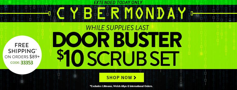 Cyber Monday Doorbuster
