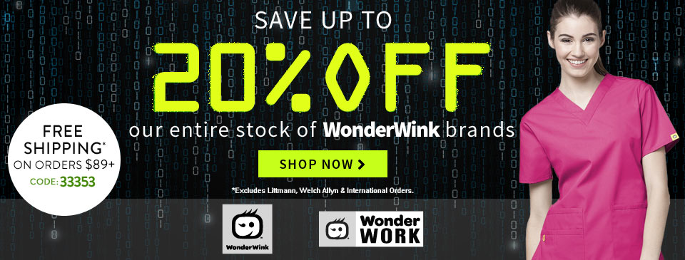 Cyber Monday 20% Wink