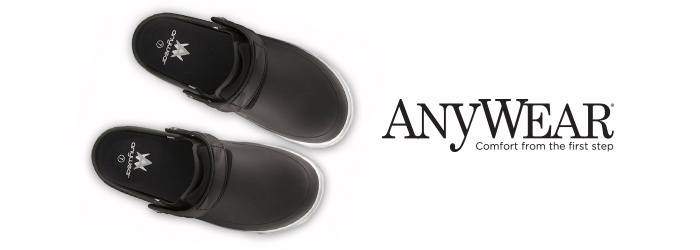 anywear clogs